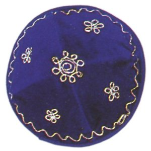 Kipa, for all Jewish Occasions. Velvet Kippot, Roy
