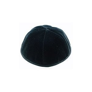 C HIGH QUALITY VELVET KIPPAH 6