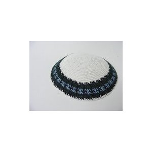 5 Assorted Hand Knitted Kippah